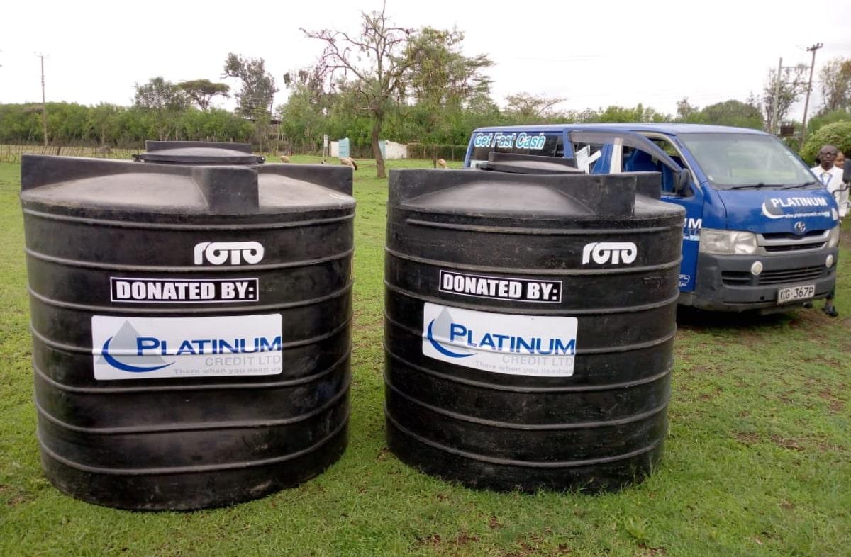 Water tanks – Prisons & Dispensaries